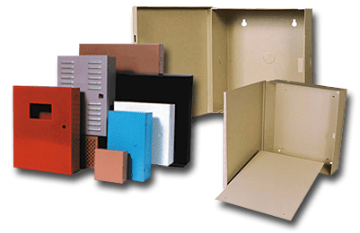 In-Stock Enclosures, Cabinets, Boxes or Cans