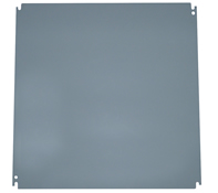 BW-124PO 22x22 back panel for FC model outdoor, NEMA 3R electrical heated enclosures from Mier