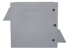 Mier stainless steel NEMA3R fan-ventilated enclosure