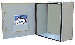 Mier stainless steel NEMA 4X outdoor enclosure