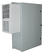Mier stainless steel NEMA 4X outdoor enclosure with AC and heat