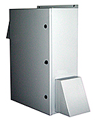 Mier stainless steel NEMA 3R fan-ventilated outdoor enclosure