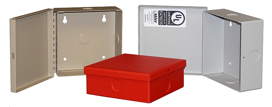 BW-97 indoor, NEMA 1, electrical enclosures from Mier Products
