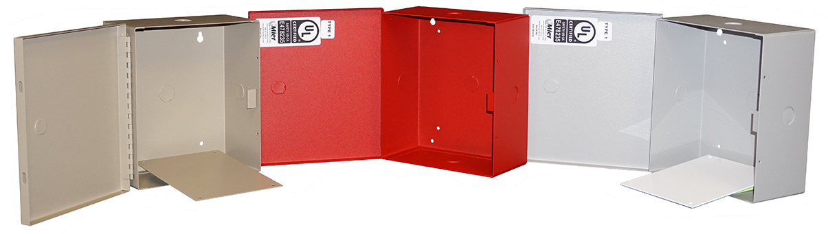 BW-98 indoor, NEMA 1, electrical enclosure from Mier Products