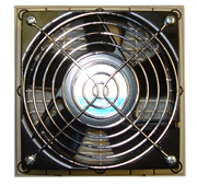BW-F131 replacement fan for outdoor, NEMA 3R fan-ventilated enclosures