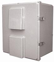 BW-FC16147 outdoor, NEMA 3R fan-ventilated, non-metallic enclosure from Mier