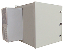 Mier stainless steel NEMA 4X rack enclosure with AC