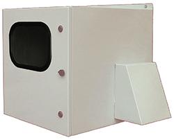 BW_RACKFCW outdoor NEMA 3R, fan-ventilated rack enclosure from Mier
