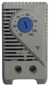 BW-THERMFC thermostat for BW-F300 and BW-F131 outdoor fan-cooled enclosures from Mier Products
