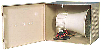Mier stainless steel speaker/siren enclosure