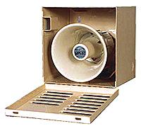 Mier stainless steel siren/speaker enclosure