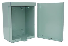 BW-117 outdoor NEMA 3R, 4 electrical enclosure from Mier