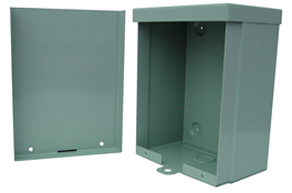 BW-118 outdoor, NEMA 3R, 4 electrical enclosure from Mier