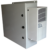 Mier outdoor NEMA 4 enclosure with AC