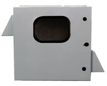 BW1248-FCW outdoor NEMA 3R fan-cooled enclosure from Mier Products