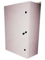 "BW-136-BP outdoor, NEMA 4 Gasketed Box with Gray 22"" x 34"" Removable Panel from Mier Products"
