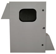 BW-136FCW outdoor, NEMA 3R fan-ventilated enclosure from Mier