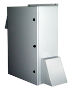 BW-136FC outdoor, NEMA 3R fan-ventilated enclosure from Mier Products