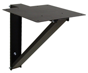 BW-215 wall-mount shelf for Mier's standard, rack mount and tower style DVR & CPU lockboxes
