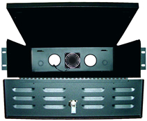 BW-235 rack mount style, indoor, fan-ventilated lockbox from Mier Products