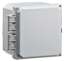 BW-L663 snap-latch, standard door outdoor/indoor, polycarbonate, non-metallic electrical enclosure from Mier
