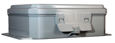BW-L982 standard door, snap-latch, outdoor/indoor, polycarbonate, non-metallic, NEMA rated electrical enclosure from Mier
