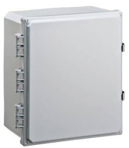 BW-SL14126 outdoor/indoor, polycarbonate, non-metallic, NEMA rated electrical enclosure from Mier Products