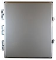 BW-SL16147 standard door, outdoor/indoor, polycarbonate, non-metallic, NEMA rated electrical enclosure from Mier