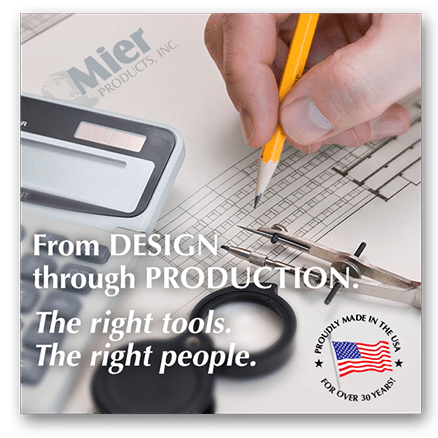 Mier Products proudly made in the USA for over 30 years!