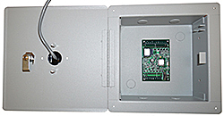 BW-MR50FMBOX Mercury board enclosure with mount for reader from Mier Products