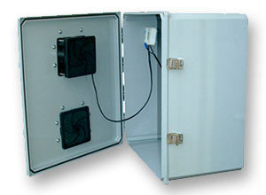 Outdoor NEMA 3R Fan-Ventilated Enclosures