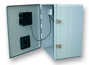 Outdoor NEMA 3R Fan-Ventilated Enclosures