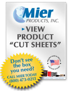 View Mier Products CUT SHEETS (pdf)