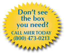 Call Mier Products at 1-800-473-0213